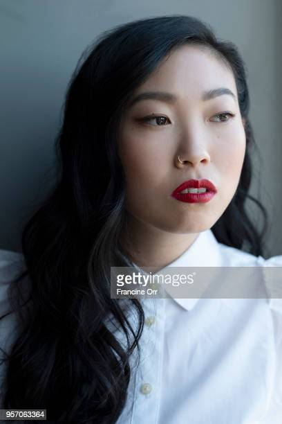Actress Awkwafina is photographed for Los Angeles Times on April 22 2018 in Los Angeles California PUBLISHED IMAGE CREDIT MUST READ Francine Orr/Los...