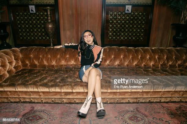Actress Awkwafina is photographed for The Hollywood Reporter on October 22 2016 in New York City PUBLISHED IMAGE