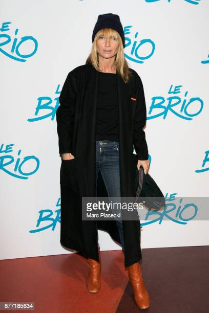 Actress Axelle Laffont attends the 'Le Brio' Premiere at Cinema Gaumont Capucine on November 21 2017 in Paris France