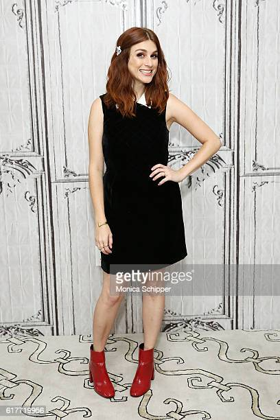 Actress Aya Cash attends The Build Series Presents You're the Worst Star Aya Cash at AOL HQ on October 24 2016 in New York City