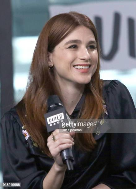Actress Aya Cash attends the Build Series to discuss 'Kings' at Build Studio on February 14 2018 in New York City
