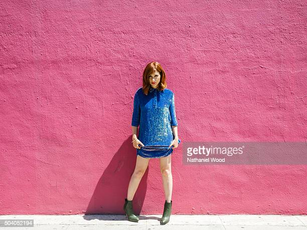 Actress Aya Cash is photographed for Complex Magazine on August 1 2015 in Los Angeles California