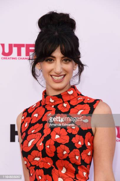 Actress Ayden Mayeri arrives at the 2019 Outfest Los Angeles LGBTQ Film Festival Closing Night Gala Premiere of Before You Know It at The Theatre at...