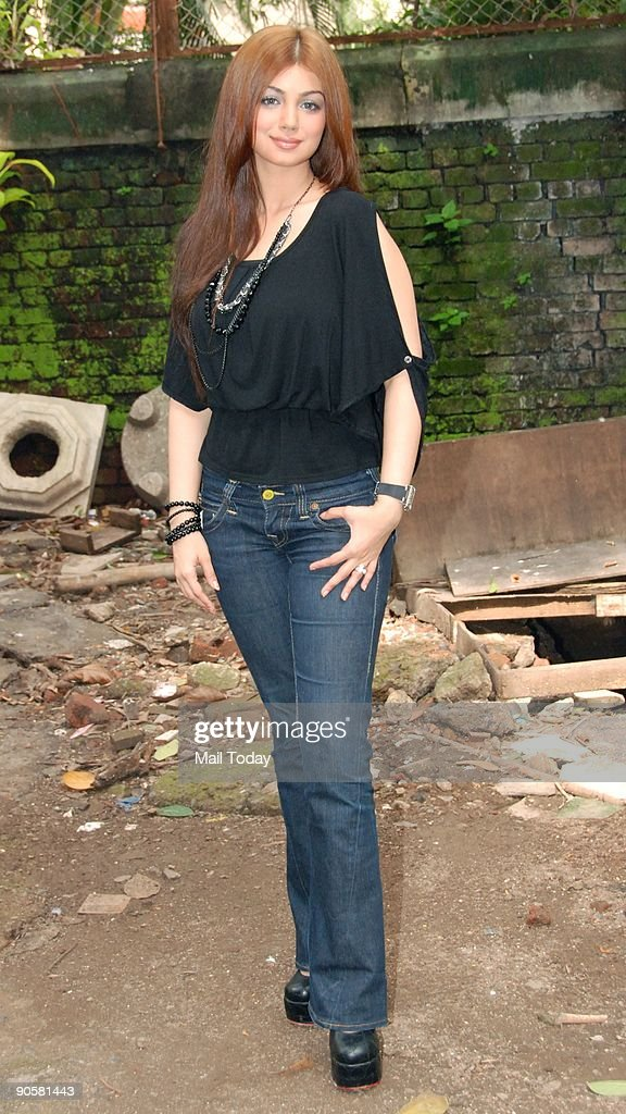 Actress Ayesha Takia at a press conference for her forthcoming film Wanted in Mumbai on Wednesday September 9 2009