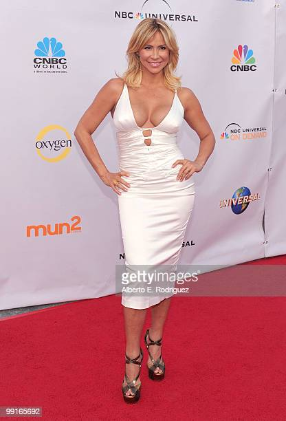 Actress Aylin Mujica arrives at The Cable Show 2010 An Evening With NBC Universal on May 12 2010 in Universal City California
