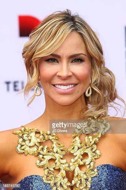 Actress Aylin Mujica attends The 2013 Billboard Mexican Music Awards at Dolby Theatre on October 9, 2013 in Hollywood, California.