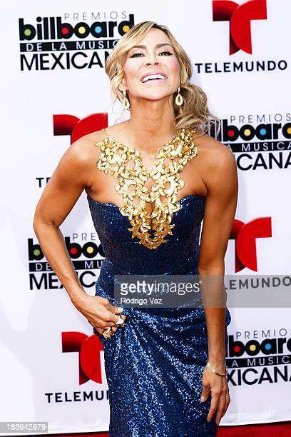 Actress Aylin Mujica attends the 2013 Billboard Mexican Music Awards arrivals at Dolby Theatre on October 9 2013 in Hollywood California