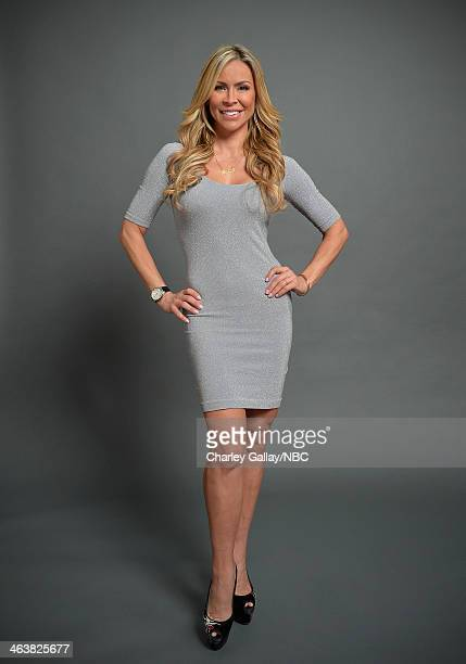 Actress Aylin Mujica attends the 2014 NBCUniversal TCA Winter Press Tour Portraits at Langham Hotel on January 19 2014 in Pasadena California