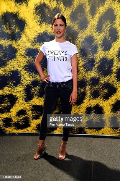 Actress Aylin Tezel attends the '7500' photocall during the 72nd Locarno Film Festival on August 9, 2019 in Locarno, Switzerland.