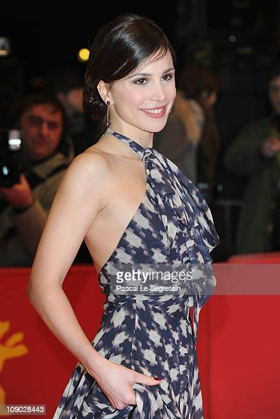 Actress Aylin Tezel attends the 'Almanya Willkommen in Deutschland' Premiere during day three of the 61st Berlin International Film Festival at...
