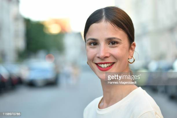 Actress Aylin Tezel attends the ARD Degeto Reception during the Munich Film Festival 2019 at Kaisergarten on June 28 2019 in Munich Germany