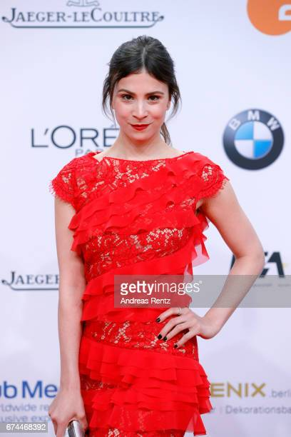 Actress Aylin Tezel attends the Lola German Film Award red carpet at Messe Berlin on April 28 2017 in Berlin Germany