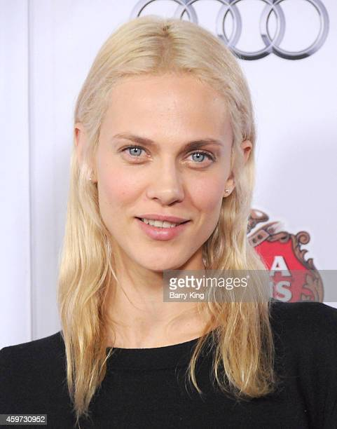 Actress Aymeline Valade arrives at AFI FEST 2014 Presented By Audi 'Saint Laurent' Special Screening held at Dolby Theatre on November 11 2014 in...