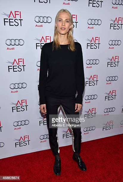 Actress Aymeline Valade attends a special screening of 'Saint Laurent' during AFI FEST 2014 presented by Audi at Dolby Theatre on November 11 2014 in...