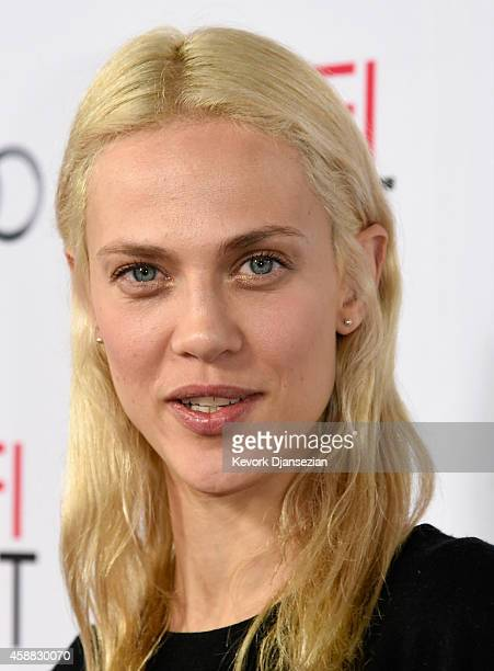 Actress Aymeline Valade attends a special screening of Saint Laurent during AFI FEST 2014 presented by Audi at Dolby Theatre on November 11 2014 in...