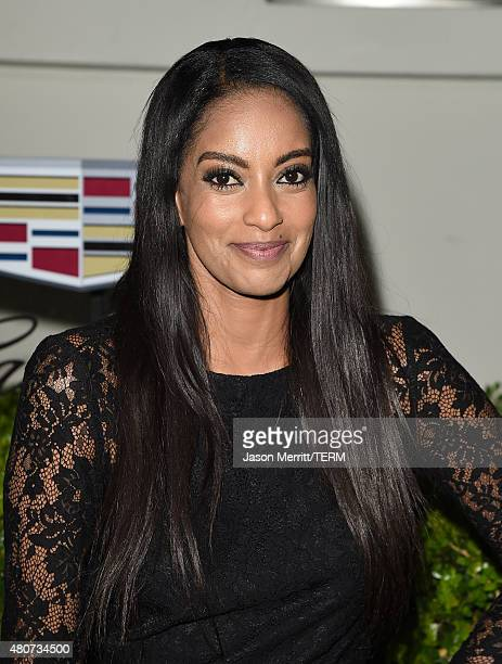 Actress Azie Tesfai attends BODY at ESPYs at Milk Studios on July 14 2015 in Hollywood California