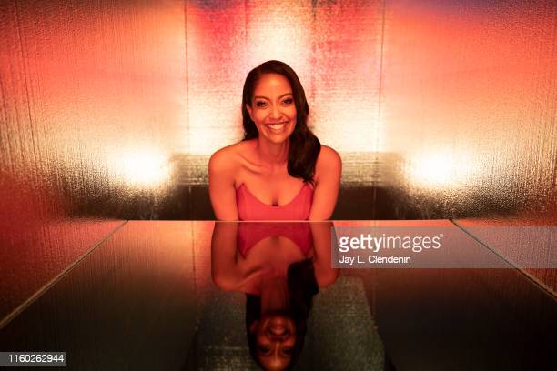 Actress Azie Tesfai of 'Supergirl' is photographed for Los Angeles Times at ComicCon International on July 20 2019 in San Diego California PUBLISHED...