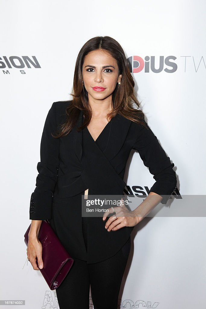 Actress Azita Ghanizada attends the premiere of 'Aftershock' at Mann Chinese 6 on May 1, 2013 in Los Angeles, California.
