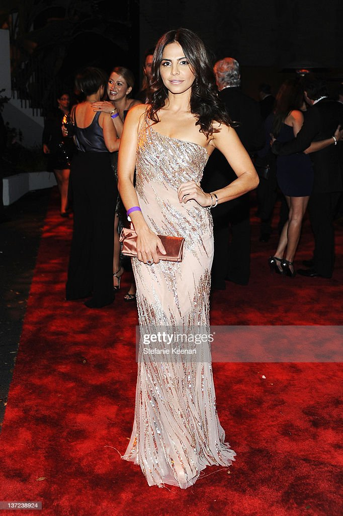 Actress Azita Ghanizada attends The Weinstein Company Celebration of the 2012 Golden Globes presented by Chopard held at The Beverly Hilton hotel on January 15, 2012 in Beverly Hills, California.