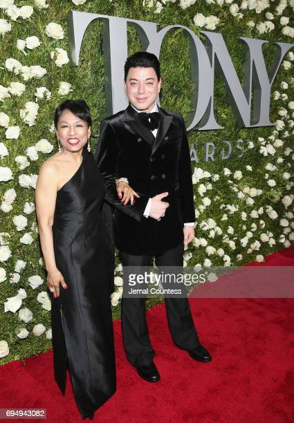 Actress Baayork Lee attends the 2017 Tony Awards at Radio City Music Hall on June 11 2017 in New York City