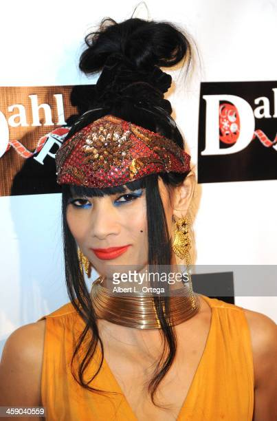 Actress Bai Ling arrives at SyFy's 'Monster Man' Costume Ball held at Cabo Wabo Cantina on October 16 2013 in Hollywood California
