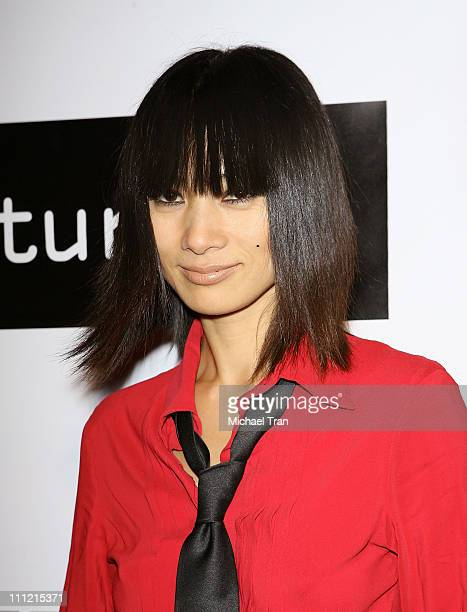 Actress Bai Ling arrives at the Disturbia DVD release party at The Standard Hotel on August 2 2007 in Los Angeles California