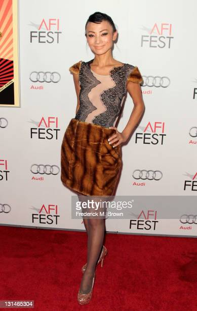Actress Bai Ling arrives at 'The Lady' Centerpiece Gala during the AFI FEST 2011 presented by Audi at Grauman's Chinese Theatre on November 4 2011 in...