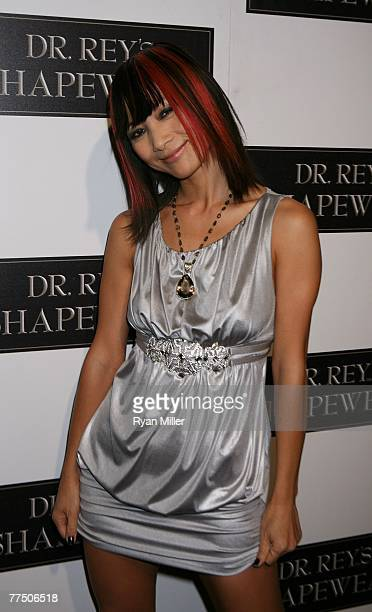 Actress Bai Ling arrives at the launch party for Dr Robert Rey's Shapewear hosted by Carmen Electra and Denise Richards held at Hollywood hot spot...