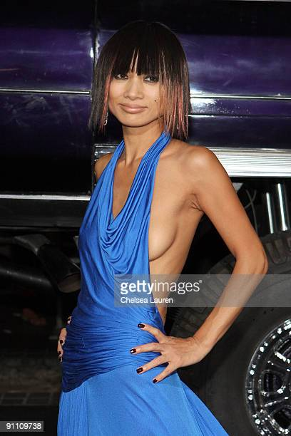Actress Bai Ling arrives at the Los Angeles premiere of 'Zombieland' at the Grauman's Chinese Theatre on September 23 2009 in Hollywood California