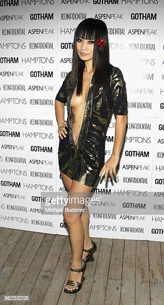 """Actress Bai Ling arrives at the Shawn King CD listening series release of """"In My Own Backyard"""" at Skybar on November 21, 2005 in Los Angeles,..."""