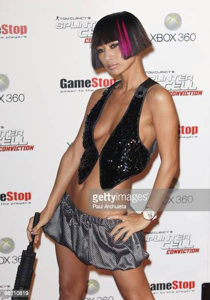 Actress Bai Ling arrives at the Xbox 360 Tom Clancy's Splinter Cell Conviction premiere at Les Deux on April 1 2010 in Hollywood California