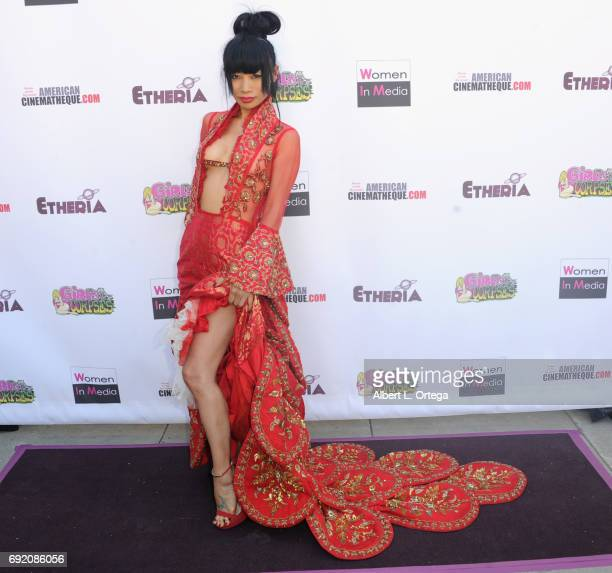Actress Bai Ling arrives for Etheria Film Night held at The Egyptian Theatre on June 3 2017 in Los Angeles California