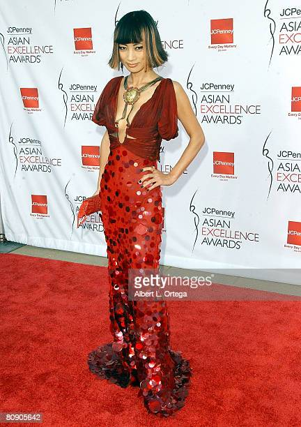 Actress Bai Ling arrives forThe 2008 JCPenney Asian Excellence Awards on April 23, 2008 at UCLA's Royce Hall in Westwood, California USA