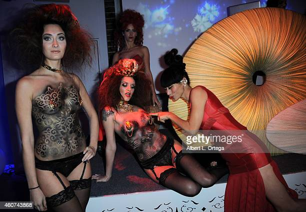 Actress Bai Ling at the Avant Garde Magazine Presentation of Couture Du Couture Featuring 'ResentmentRunEvil' Fashion Show By Jason Ryan held at...
