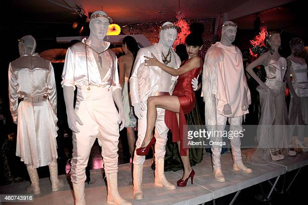Actress Bai Ling at the Avant Garde Magazine Presentation of Couture Du Couture Featuring ResentmentRunEvil Fashion Show By Jason Ryan held at Unici...