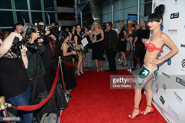 Actress Bai Ling attend the opening night of the Hollywood Film Festival at ArcLight Hollywood on September 24 2015 in Hollywood California