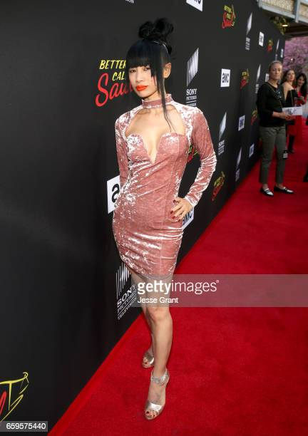 Actress Bai Ling attends AMC's Better Call Saul season 3 premiere at ArcLight Cinemas on March 28 2017 in Culver City California