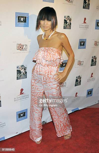 """Actress Bai Ling attends Elvis hit making team """"The End""""CD launch and George Barris book signing """"Barris Cars of the Stars"""" on September 22, 2009 in..."""