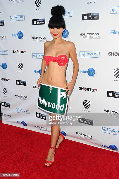 Actress Bai Ling attends the 2015 Hollywood Film Festival Opening Night Gala on September 24 2015 in Los Angeles California
