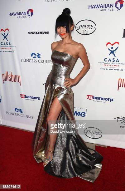 Actress Bai Ling attends the 2017 CASA of Los Angeles Evening To Foster Dreams Gala at The Beverly Hilton Hotel on May 16, 2017 in Beverly Hills,...