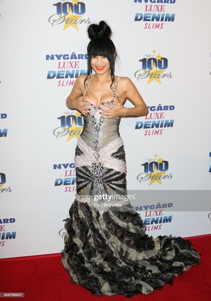 Actress Bai Ling attends the 27th annual 'Night Of 100 Stars' black tie dinner viewing gala at The Villa Aurora on February 26, 2017 in Pacific Palisades, California.
