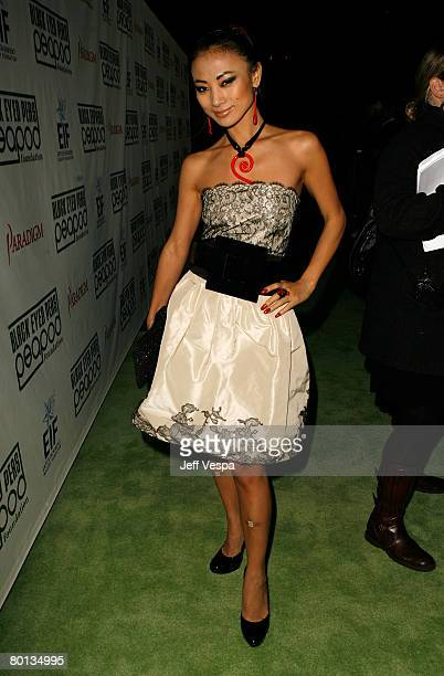Actress Bai Ling attends the 4th Annual Peapod Foundation Benefit Concert at Avalon Hollywood on February 7 2008 in Los Angeles California