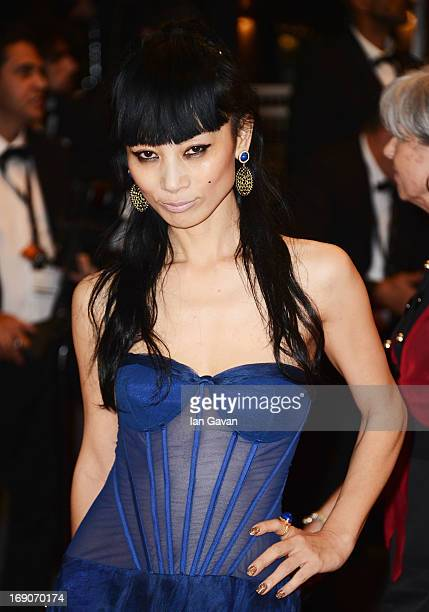 Actress Bai Ling attends the 'Borgman' Premiere during the 66th Annual Cannes Film Festival at the Palais des Festivals on May 19, 2013 in Cannes,...