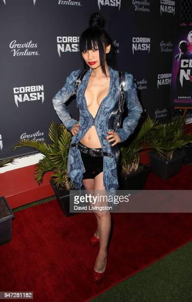 Actress Bai Ling attends the Corbin Nash premiere screening at The Montalban on April 16 2018 in Hollywood California
