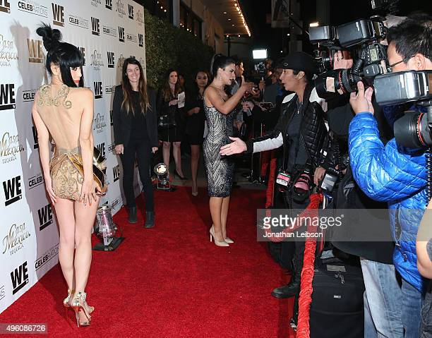 Actress Bai Ling attends the launch of WE tv's David Tutera CELEBrations and Casa Mexico Tequila on November 6 2015 in Hollywood California