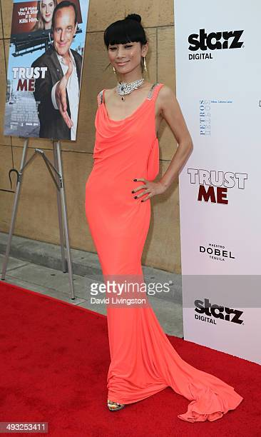 """Actress Bai Ling attends the Los Angeles premiere of """"Trust Me"""" at the Egyptian Theatre on May 22, 2014 in Hollywood, California."""