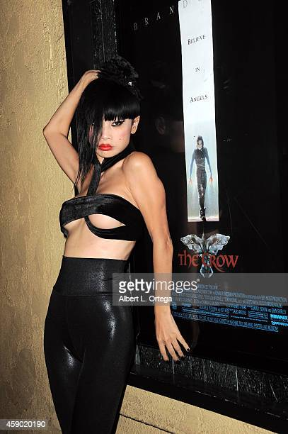 Actress Bai Ling attends the Nerds Like Us Presentation of 'The Crow' 20th Anniversary Midnight Screening and QA with Bai Ling held at The Vista...