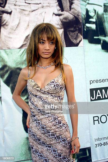 Actress Bai Ling attends the opening of 'James Dean New York 1954' an exhibition of Roy Schatt''s James Dean photographs and benefit party August 4...