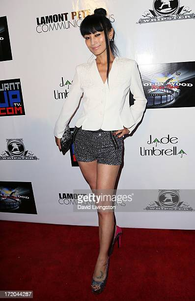 Actress Bai Ling attends the Party After BET Awards 2013 hosted by Chris Brown and Nick Cannon at the Belasco Theater on June 30 2013 in Los Angeles...