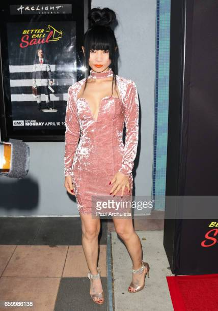 Actress Bai Ling attends the premiere of AMC's Better Call Saul Season 3 at Arclight Cinemas Culver City on March 28 2017 in Culver City California